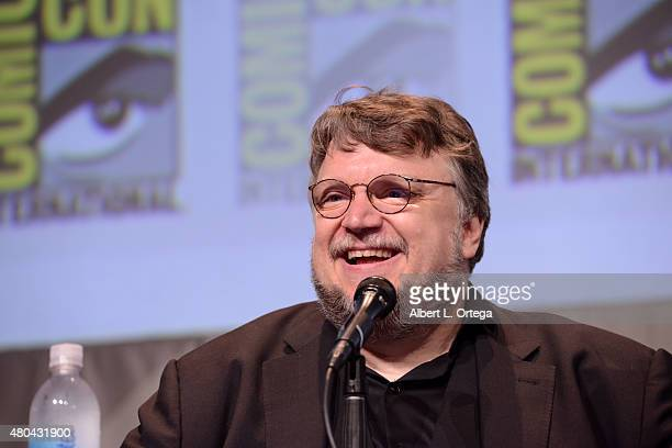 Director Guillermo del Toro speaks onstage at the Legendary Pictures panel during ComicCon International 2015 the at the San Diego Convention Center...