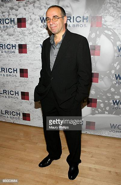 Director Guiseppe Tornatore attends Douglas Kirkland's Photo Homage to Classic Italian Cinema at The Itlalian Cultural Institute on November 11 2009...