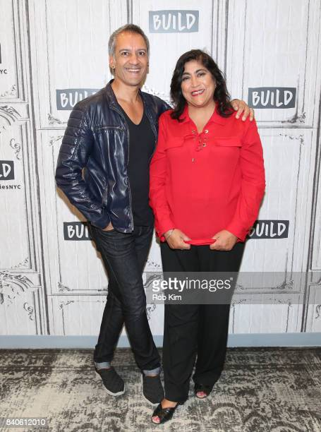 Director Gurinder Chadha and Tanveer Ghani discuss their new film 'Viceroy's House' at Build Studio on August 29 2017 in New York City