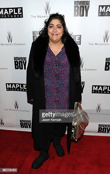 Director Gurinder Chadha attends the 'Nowhere Boy' party at The Sky Lodge on January 27 2010 in Park City Utah