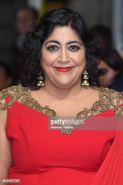 Director Gurinder Chadha attends the 'Viceroy's House' UK Premiere on February 21 2017 in London United Kingdom