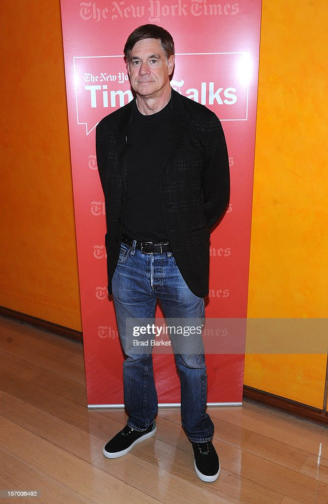 Director Gus Van Sant attends TimesTalk Presents An Evening With Marion Cotillard, Matt Damon & Gus Van Sant>> at TheTimesCenter on November 27, 2012 in New York City.