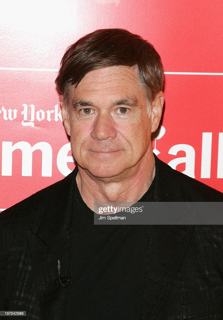 Director Gus Van Sant attends TimesTalk Presents An Evening With Marion Cotillard, Matt Damon & Gus Van Sant at TheTimesCenter on November 27, 2012 in New York City.