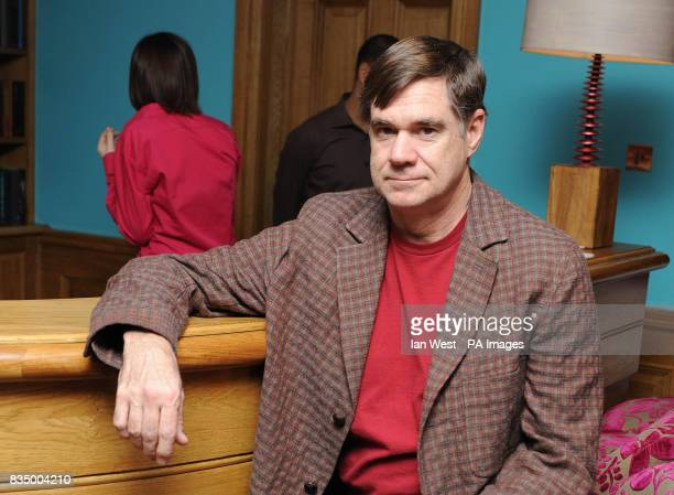 Director Gus Van Sant is seen at a photocall for his new film 'Milk' at the Soho Hotel in London