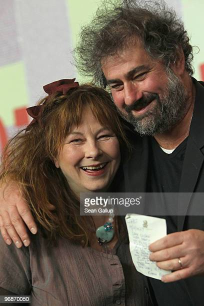 Director Gustave de Kervern and actress Yolande Moreau attend the 'Mammuth' Press Conference during day nine of the 60th Berlin International Film...