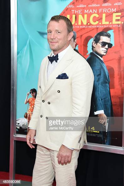 Director Guy Ritchie attends the New York Premiere of 'The Man From UNCLE' at Ziegfeld Theater on August 10 2015 in New York City