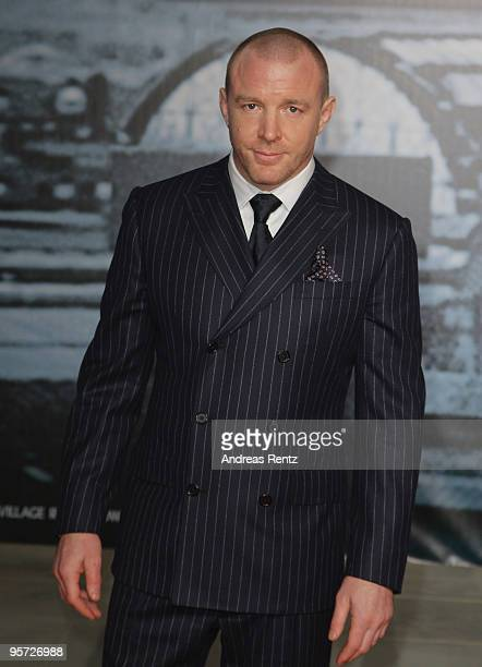 Director Guy Ritchie attends the 'Sherlock Holmes' German Premiere at CineStar on January 12 2010 in Berlin Germany