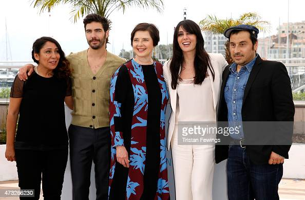 Director Haifaa alMansour actors Tahar Rahim Isabella Rossellini Nadine Labaki and director Panos H Koutras attend a photocall for the Jury Un...