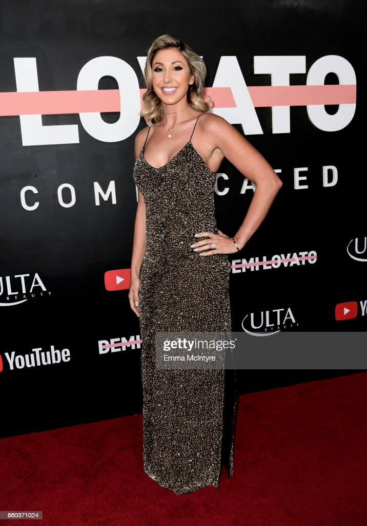 Director Hannah Lux Davis attends the 'Demi Lovato: Simply Complicated' YouTube premiere at The Fonda Theatre on October 11, 2017 in Los Angeles, California.