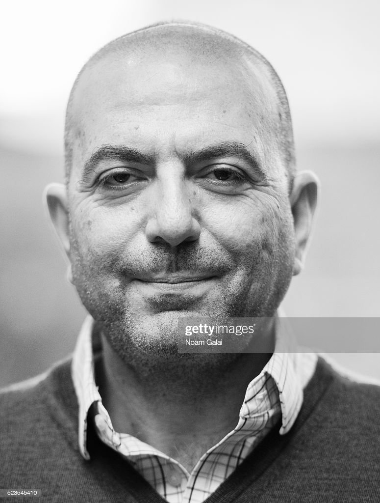 Director Hany Abu Assad poses for a portrait on April 12, 2016 in New York City.
