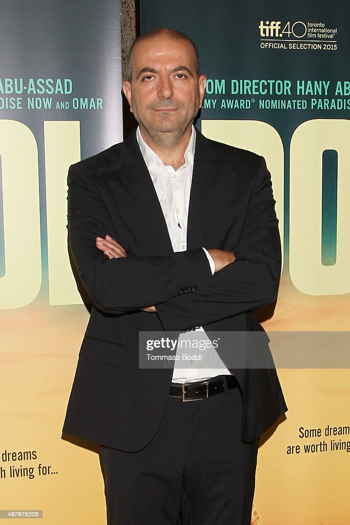 Director <a gi-track='captionPersonalityLinkClicked' href=/galleries/search?phrase=Hany+Abu-Assad&family=editorial&specificpeople=656572 ng-click='$event.stopPropagation()'>Hany Abu-Assad</a> attends the World Premiere of <a gi-track='captionPersonalityLinkClicked' href=/galleries/search?phrase=Hany+Abu-Assad&family=editorial&specificpeople=656572 ng-click='$event.stopPropagation()'>Hany Abu-Assad</a>'s 'The Idol' at Toronto International Film Festival at Isabel Bader Theatre on September 11, 2015 in Toronto, Canada. The Idol is supported by Doha Film Institute.