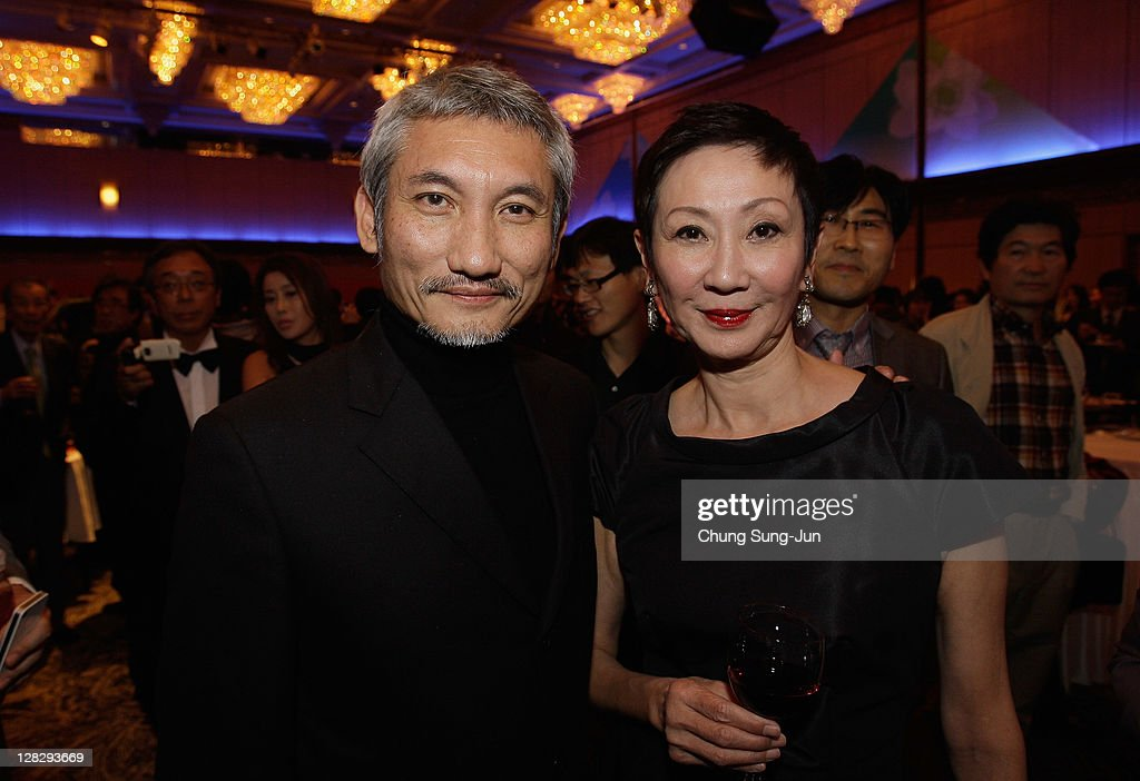 Director Hark Tsui and producer Nansun Shi attend during the Opening ceremony party of the 16th Busan International Film Festival (BIFF) at Grand Hotel on October 6, 2011 in Busan, South Korea. The biggest film festival in Asia showcases 307 films from 70 countries and runs from October 6-14.