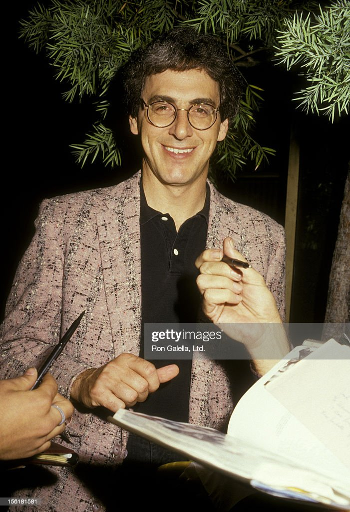 Director <a gi-track='captionPersonalityLinkClicked' href=/galleries/search?phrase=Harold+Ramis&family=editorial&specificpeople=661995 ng-click='$event.stopPropagation()'>Harold Ramis</a> attends the premiere of 'Baby Boom' on October 6, 1987 at the Academy Theater in Beverly Hills, California.
