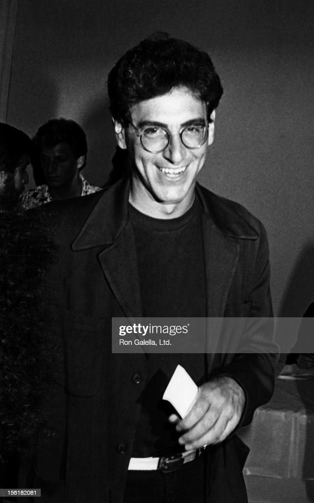 Director Harold Ramis attends the premiere of 'Purple Rain' on Jully 26, 1984 at Mann Chinese Theater in Hollywood, California.