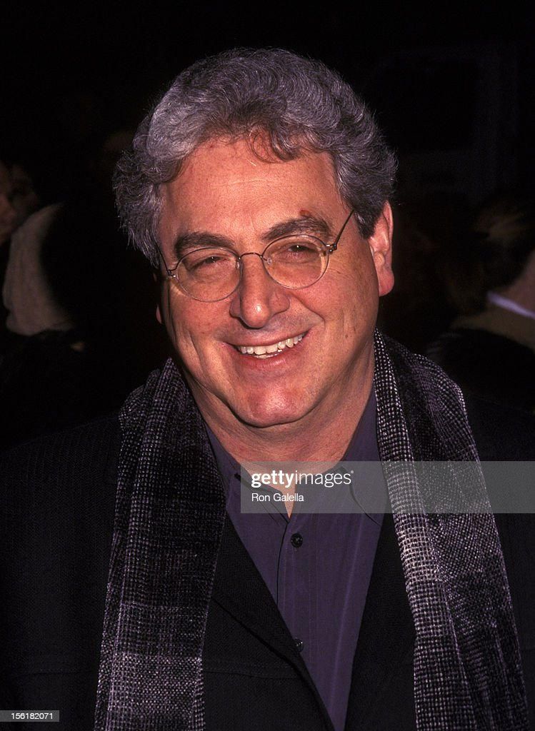 Director Harold Ramis attends the world premiere of 'Analyze That' on December 2002 at the Ziegfeld Theater in New York City.