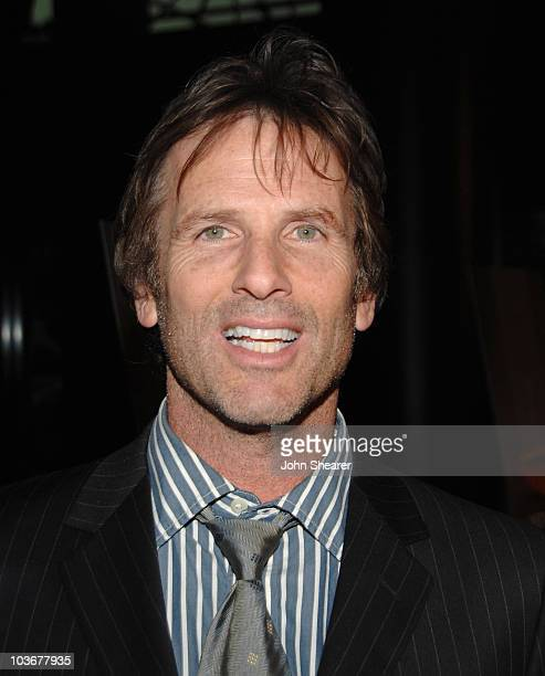Director Hart Bochner arrives to the premiere of 'Just Add Water' at the Directors Guild of America on March 18 2008 in Hollywood California