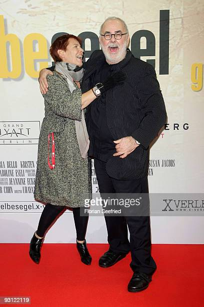 Director Heidi Kranz and Udo Walz attend the premiere of 'Das gelbe Segel' at CineMaxx at Potsdam Place on November 17 2009 in Berlin Germany