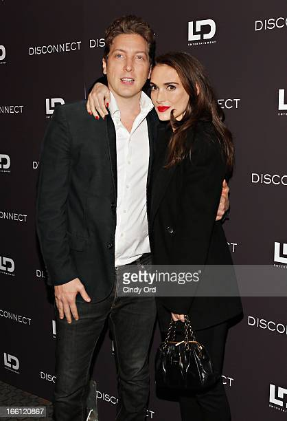 Director HenryAlex Rubin and actress Winona Ryder attend the'Disconnect' New York Special Screening at SVA Theater on April 8 2013 in New York City