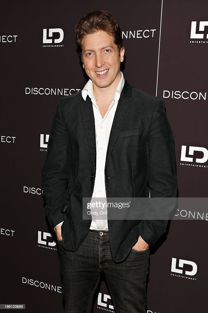 Director Henry-Alex Rubin attends the 'Disconnect' New York Special Screening at SVA Theater on April 8, 2013 in New York City.