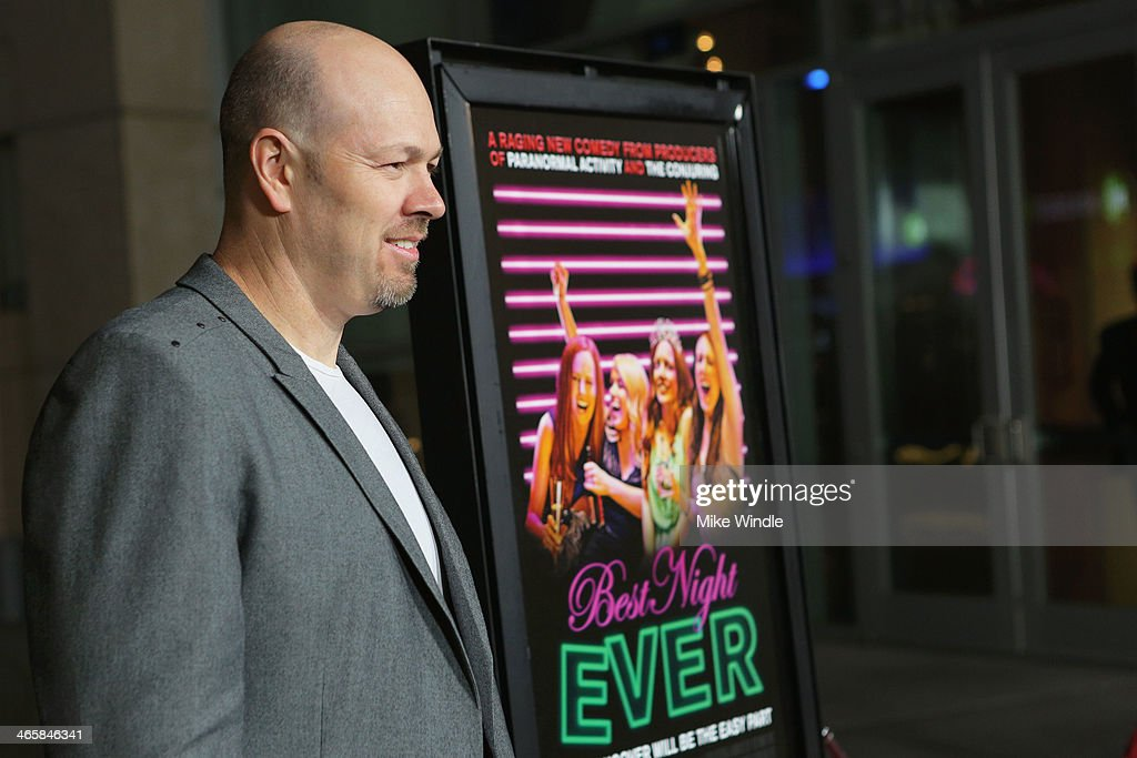 Director Herschel Faber arrives at the premiere of Magnet's 'Best Night Ever' at ArcLight Cinemas on January 29, 2014 in Hollywood, California.