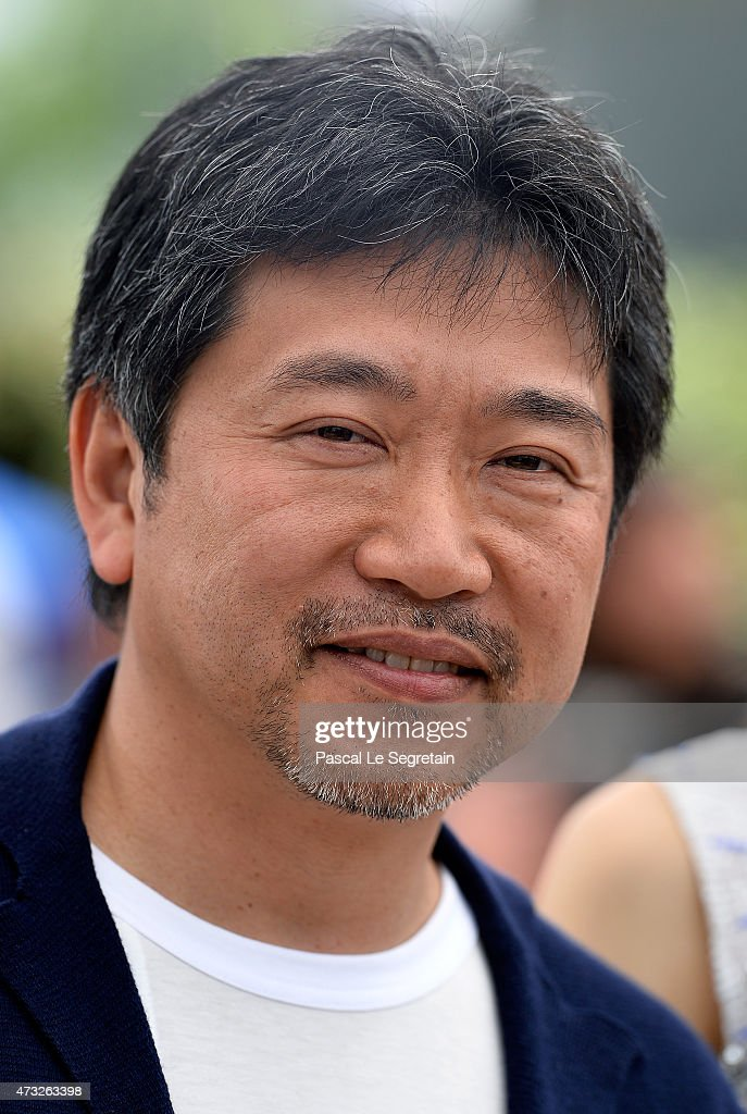 Director Hirokazu Koreeda attends a photocall for 'Umimachi Diary' ('Our Little Sister') during the 68th annual Cannes Film Festival on May 14, 2015 in Cannes, France.