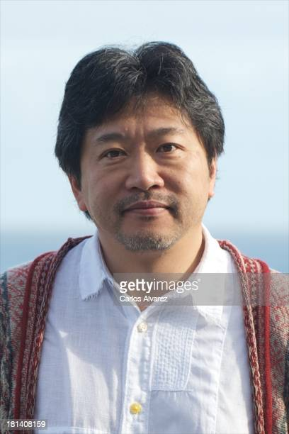 Director Hirokazu Koreeda attends the 'Like Father Like Son' photocall during the 61th San Sebastian International Film Festival at the Kursaal...
