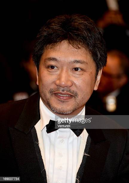 Director Hirokazu Koreeda attends the Premiere of 'Soshite Chichi Ni Naru' at Palais des Festivals during The 66th Annual Cannes Film Festival on May...