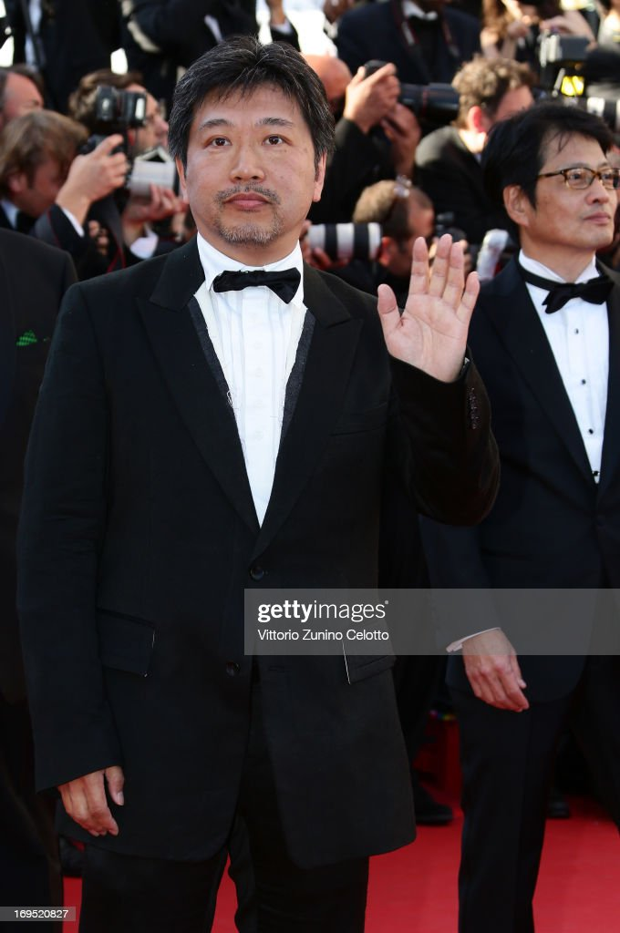 Director Hirokazu Koreeda attends the 'Zulu' Premiere and Closing Ceremony during the 66th Annual Cannes Film Festival at the Palais des Festivals on May 26, 2013 in Cannes, France.