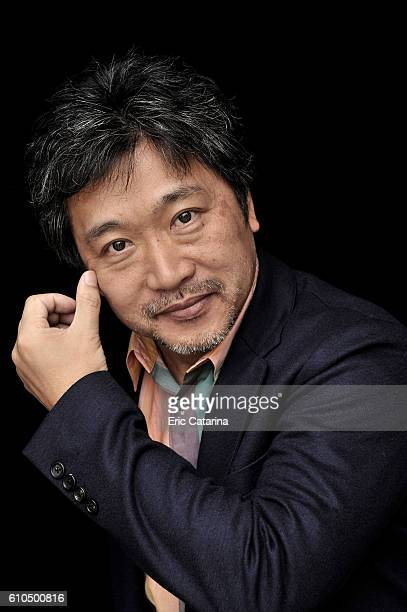 Director Hirokazu KoreEda is photographed for Self Assignment on September 23 2016 in San Sebastian Spain