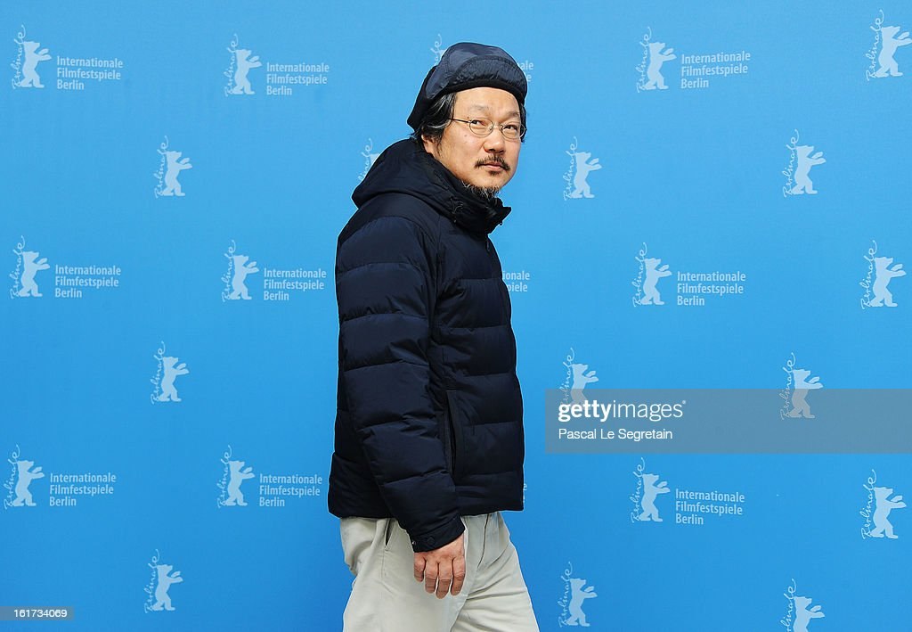 Director Hong Sangsoo attends the 'Nobody's Daughter Haewon' Photocall during the 63rd Berlinale International Film Festival at the Grand Hyatt Hotel on February 15, 2013 in Berlin, Germany.