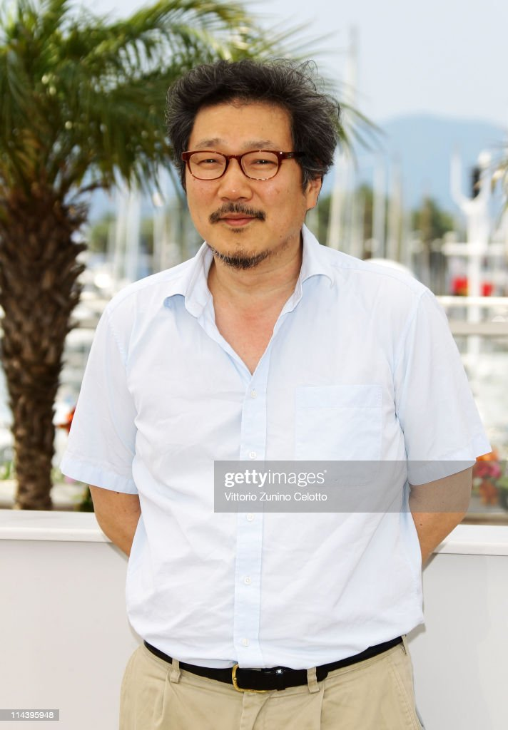 Director Hong Sang-soo attends the 'The Day He Arrives' Photocall at Palais des Festivals during the 64th Annual Cannes Film Festival on May 19, 2011 in Cannes, France.