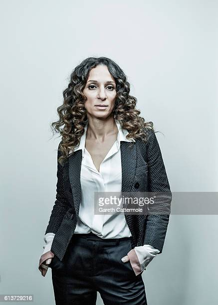 Director Houda Benyamina is photographed during the 60th BFI London Film Festival at The Corinthia Hotel on October 6 2016 in London England