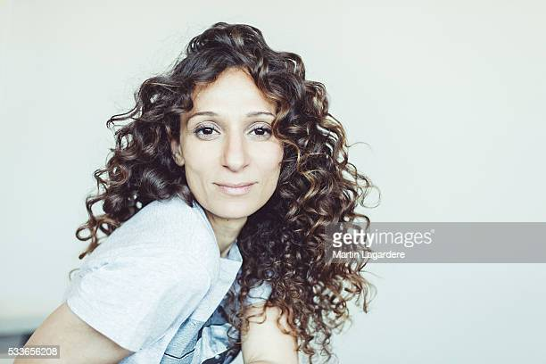 Director Houda Benyamina is photographed for Self Assignment on May 20 2016 in Cannes France