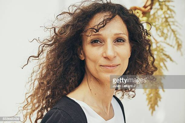 Director Houda Benyamina is photographed for Self Assignment on May 18 2016 in Cannes France