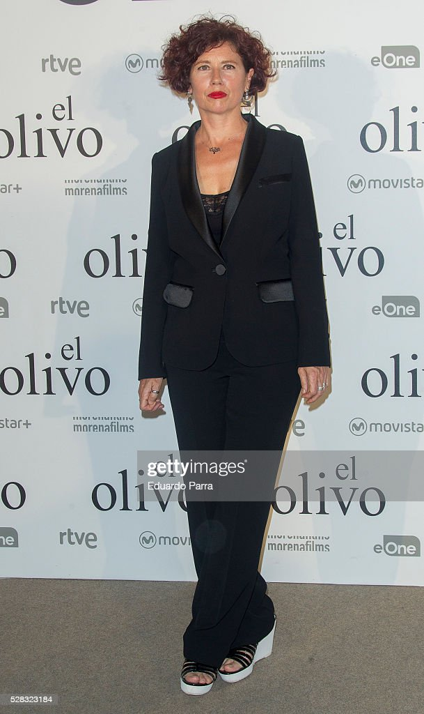 Director Iciar Bollain attends 'El olivo' premiere at Capitol cinema on May 04, 2016 in Madrid, Spain.