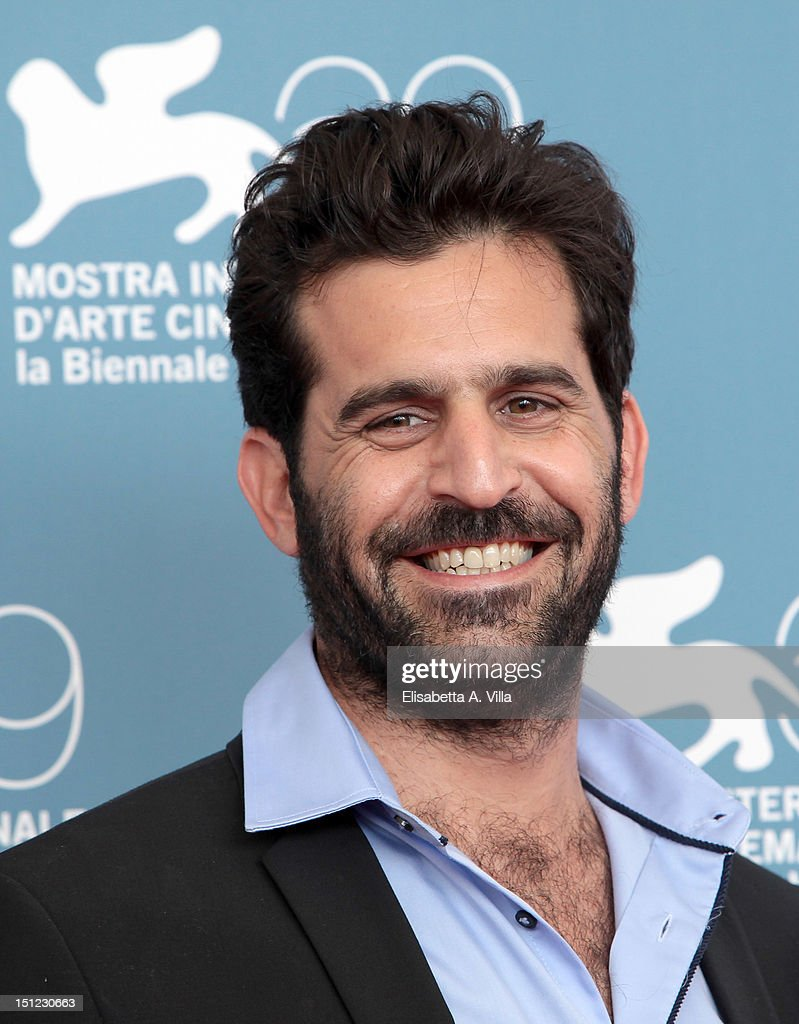Director Idan Hubel attends the'The Cutoff Man' Photocall during the 69th Venice Film Festival at the Palazzo del Casino on September 4 2012 in...