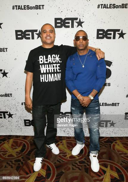 Director Irv Gotti and recording artist Ja Rule attend the screening of BET Series 'Tales' at AMC 34th Street on June 8 2017 in New York City