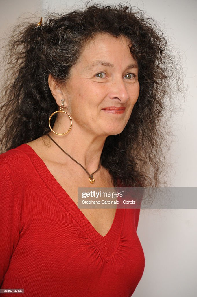 Director Isabelle Partiot-Pieri attends the 'Toscan' documentary premiere at Cinema l'Arlequin in Paris.