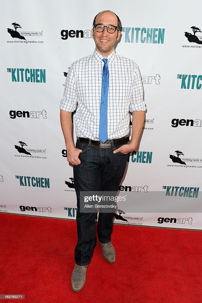 Director Ishai Setton arrives at the Los Angeles premiere of 'The Kitchen' at Laemmle NoHo 7 on March 14, 2013 in North Hollywood, California.