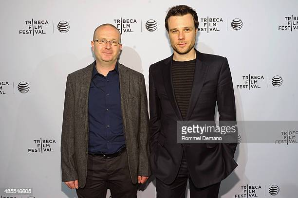 Director Ivan Kavanaugh and actor Rupert Evans attend the 'The Canal' Premiere during the 2014 Tribeca Film Festival at AMC Loews Village 7 on April...