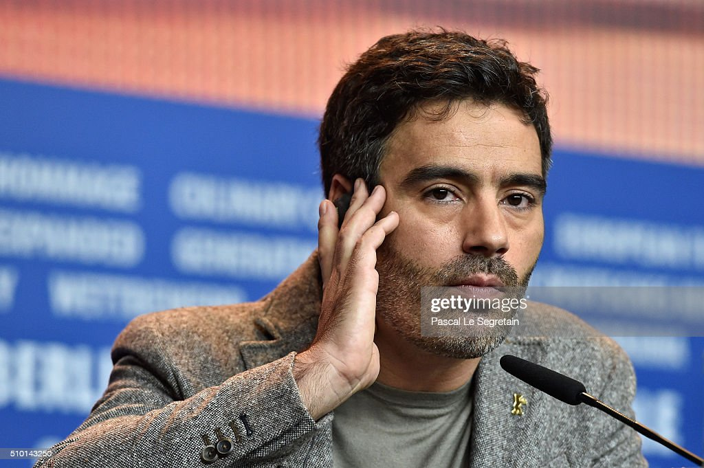 Actor Ricardo Pereira is seen at the 'Letters from War' (Cartas da guerra) press conference during the 66th Berlinale International Film Festival Berlin at Grand Hyatt Hotel on February 14, 2016 in Berlin, Germany.