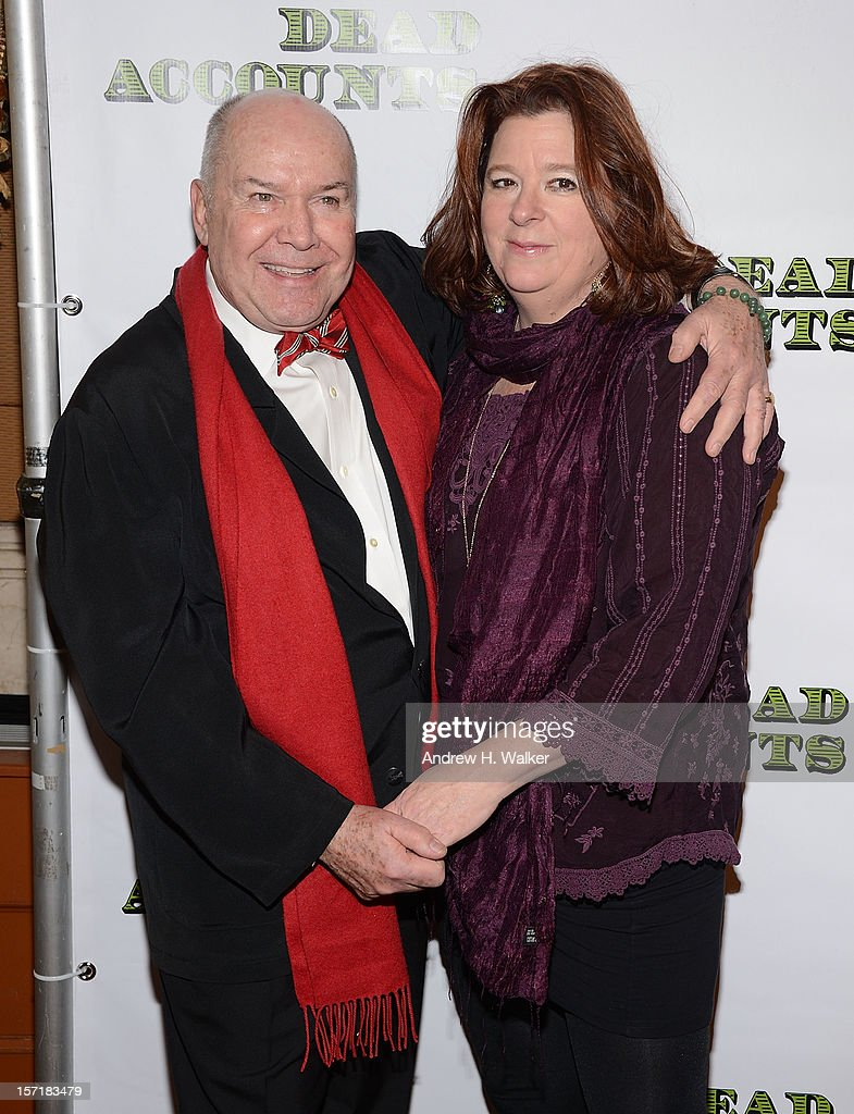 Director <a gi-track='captionPersonalityLinkClicked' href=/galleries/search?phrase=Jack+O%27Brien&family=editorial&specificpeople=228904 ng-click='$event.stopPropagation()'>Jack O'Brien</a> and playwright Theresa Rebeck attend the 'Dead Accounts' Broadway opening night after party at Gotham Hall on November 29, 2012 in New York City.