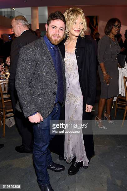 Director Jacob Bernstein and actress Meg Ryan attend the after party for the New York special screening of 'Everything is Copy Nora Ephron Scripted...