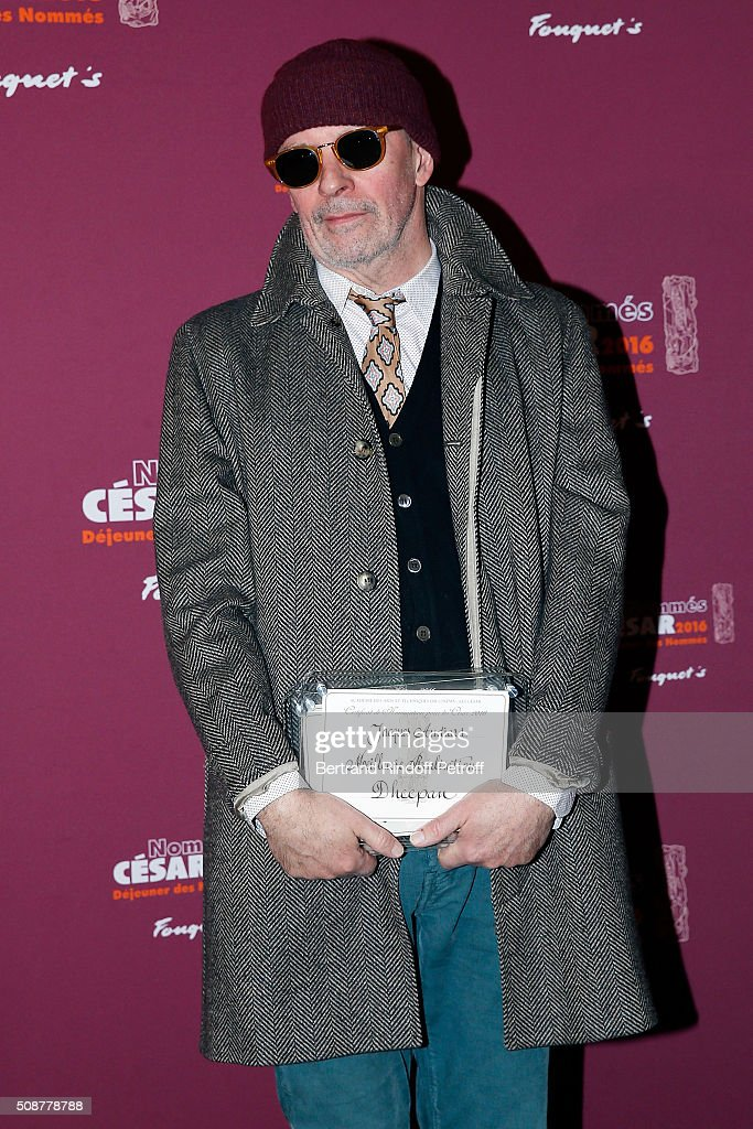 Director <a gi-track='captionPersonalityLinkClicked' href=/galleries/search?phrase=Jacques+Audiard&family=editorial&specificpeople=624567 ng-click='$event.stopPropagation()'>Jacques Audiard</a> attends 'Cesar 2016 Nominee Luncheon' at Le Fouquet's on February 6, 2016 in Paris, France.