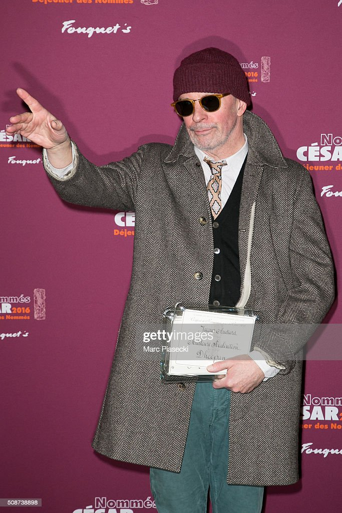 Director <a gi-track='captionPersonalityLinkClicked' href=/galleries/search?phrase=Jacques+Audiard&family=editorial&specificpeople=624567 ng-click='$event.stopPropagation()'>Jacques Audiard</a> attends the 'Cesar 2016- Nominee luncheon' at Le Fouquet's on February 6, 2016 in Paris, France.
