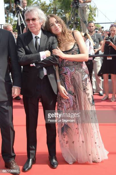 Director Jacques Doillon and actor Izia Higelin attends the 'Rodin' screening during the 70th annual Cannes Film Festival at Palais des Festivals on...