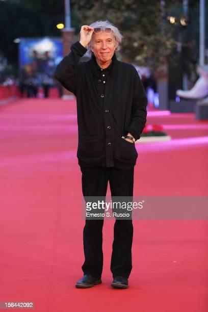 Director Jacques Doillon attends the 'Un Enfant De Toi' Premiere during the 7th Rome Film Festival at the Auditorium Parco Della Musica on November...