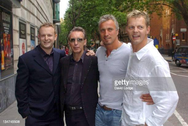 Director Jade Carmen Producer Louis Paltnoi David Ginola and Cineatographer Tim Knight