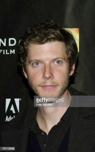 Director Jake Paltrow arrives for the 'The Good Night' premiere at the Eccles Theater during the 2007 Sundance Film Festival on January 25 2007 in...