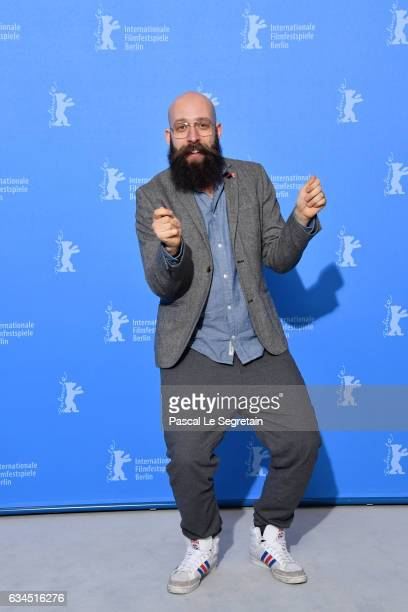 Director Jakob Lass attends the 'Tiger Girl' photo call during the 67th Berlinale International Film Festival Berlin at Grand Hyatt Hotel on February...